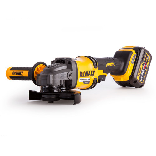 Dewalt DCG414T2 54V XR Flexvolt Grinder 125mm (2 x 6.0Ah Batteries) - 6