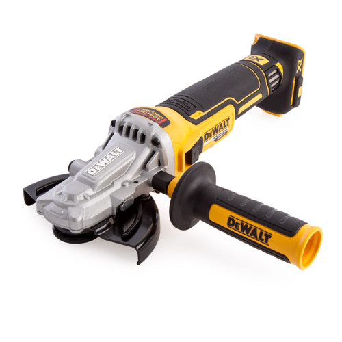 Dewalt DCG405FN 18V XR Brushless Flathead Angle Grinder 125mm (Body Only) - 3
