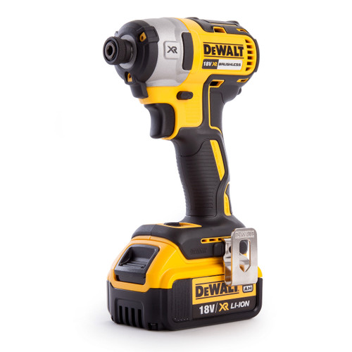 Dewalt DCF887M1 18V XR 3 Speed Brushless Impact Driver (1 x 4.0Ah Battery) - 5