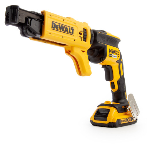 Dewalt DCF620D2K 18V Brushless Collated Drywall Screwdriver (2 x 2.0Ah Batteries) - 6