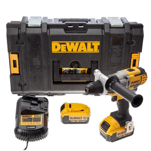 Dewalt DCD985M2-SP 18V XR Combi Drill (2 x 4.0Ah Batteries) - 5