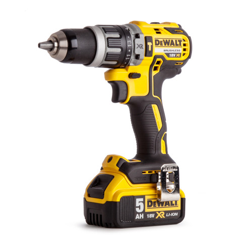 Dewalt DCD796P1 18V XR Brushless Compact Combi Drill (1 x 5.0Ah Battery) - 4