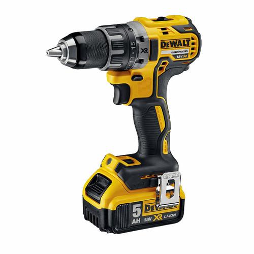 Dewalt DCD791P2 18V XR Brushless Compact Drill Driver (2 x 5.0Ah Batteries) - 2