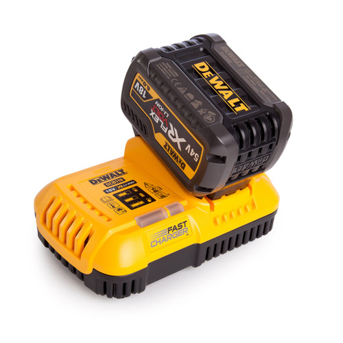 Dewalt 1 x DCB546 54V XR Flexvolt 6.0Ah Battery + DCB118 XR Fast Charger - 2