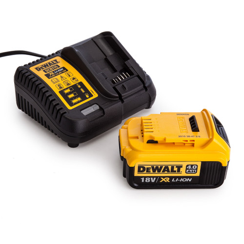 Dewalt DCB115 Charger + DCB182 4.0Ah Battery - 4