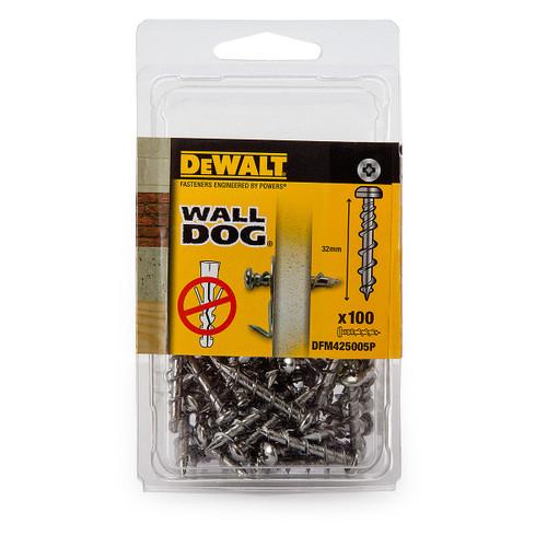 Dewalt DFM425005P Wall Dog Chrome Pan Screws 32mm (Pack of 100) - 3