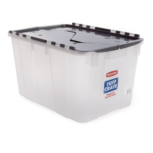 Curver Tuffcrate Clear storage container - Capacity 55 Litre - 2