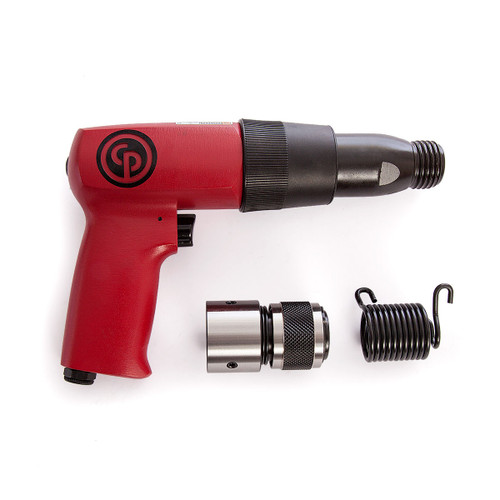 Chicago Pneumatic CP7110K Air Hammer Kit with 4 Chisels - 3