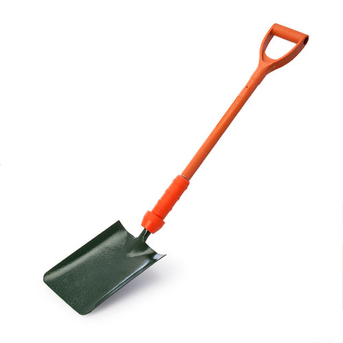 Bulldog PD5TSIN Insulated Square Trench Shovel with 28 Inch Shaft - 3