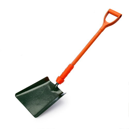 Bulldog PD5SM2IN Insulated No2 Square Mouth Shovel with 28 Inch Shaft - 3
