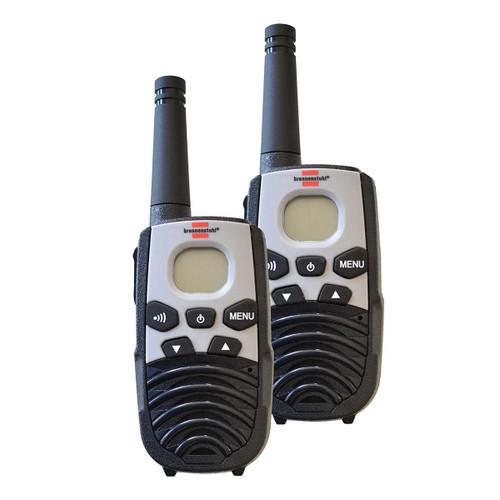 Buy Brennenstuhl 1290940 PMR Walkie Talkies TRX 3500 (Pack of 2) at Toolstop