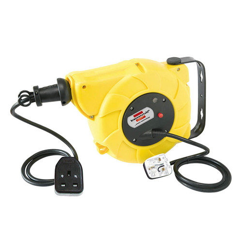 Buy Brennenstuhl 1241023300 Automatic Cable Reel 9 + 2 Metres 240V at Toolstop