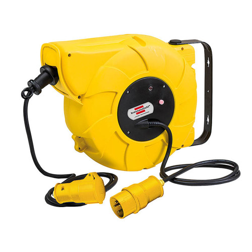 Buy Brennenstuhl 1241013110 Automatic Cable Reel 9 + 2 Metres 110V at Toolstop