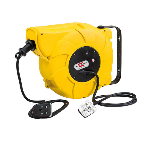 Buy Brennenstuhl 1241003300 Automatic Cable Reel 16 +2 Metres 240V at Toolstop
