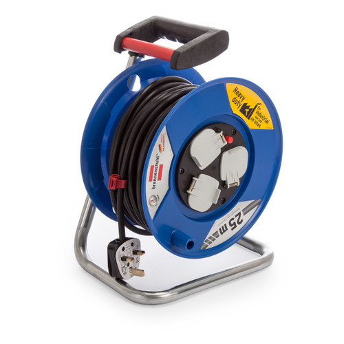 Buy Brennenstuhl 1218053 Cable Reel Garant 25 Metres 240V for GBP23.33 at Toolstop