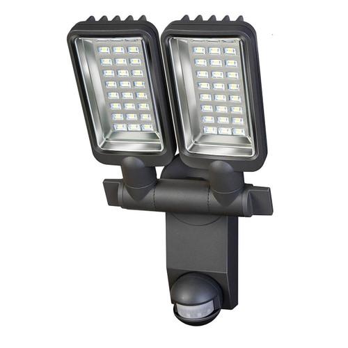 Brennenstuhl 1179650 Sensor LED Zone Lighting Duo Premium City with Motion Detector (Clear Glass) - 2