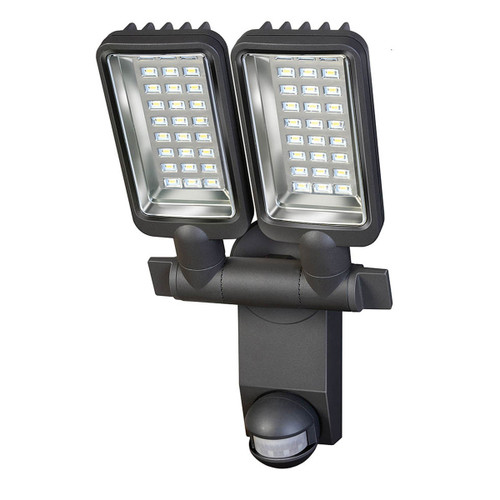 Brennenstuhl 1179650 Sensor LED Zone Lighting Duo Premium City with Motion Detector (Clear Glass) - 2