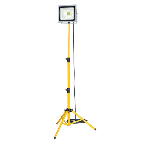 Buy Brennenstuhl 1171253504 Chip LED light 50W with Tripod 240V at Toolstop