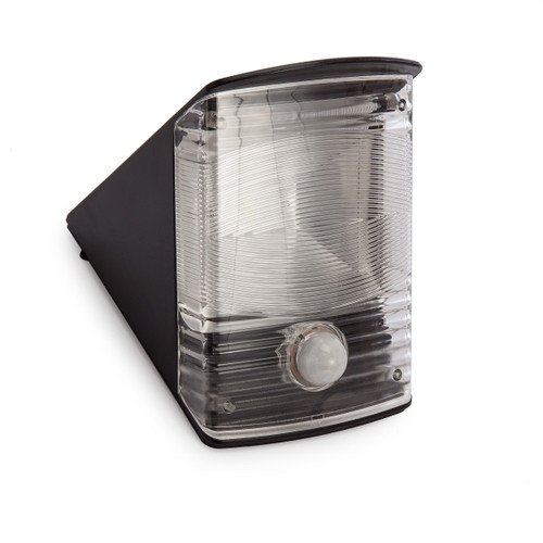 Brennenstuhl 1170970 Solar LED Wall Lamp with Motion Detector (Black) - 1