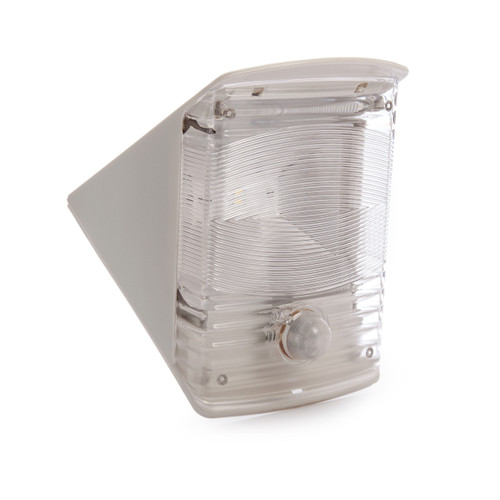 Brennenstuhl 1170870 Solar LED Wall Lamp with Motion Detector (Grey White) - 1