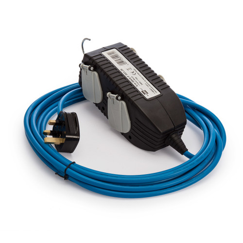 Brennenstuhl 1168203 Powerblock with Extension Cable 5 Metres 240V - 3