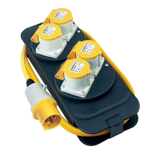 Buy Brennenstuhl 1151413 Energy Station 4-Way 2 Metres 110V at Toolstop