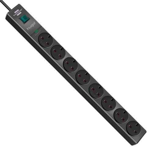 Buy Brennenstuhl 1150613318 Hugo Extension Socket 8 Way 240V at Toolstop