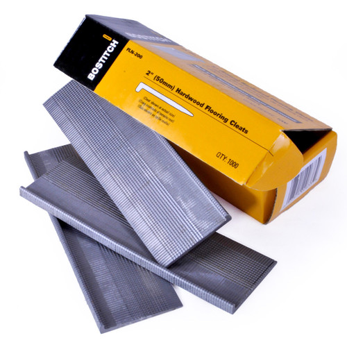 Buy Bostitch FLN-200 Flooring Cleat Nails for MFN201E Nailer 50mm (Pack Of 1000) at Toolstop
