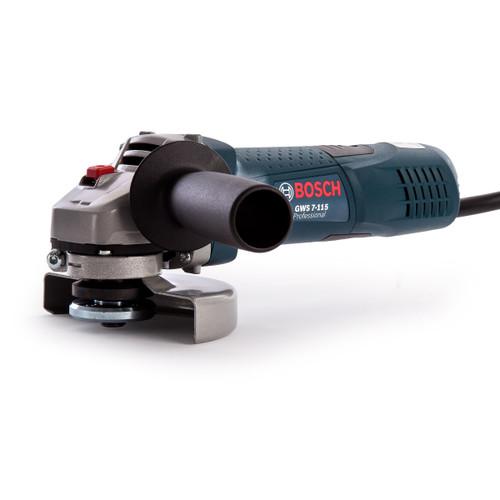 Bosch GWS7-115 Professional Angle Grinder 115mm / 4.1/2 Inch 240V - 6