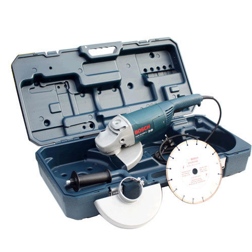 Buy Bosch GWS22-230CB 9in/230mm Professional Large Angle Grinder with Diamond Blade and Case 240V at Toolstop