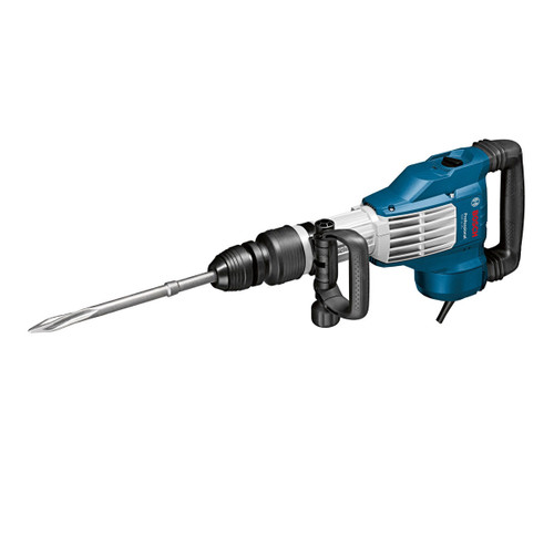 Bosch GSH11VC 11Kg Demolition Hammer With SDS-Max Plus 2 x Flat Chisels, 1 x Pointed Chisel in Case 110V - 4