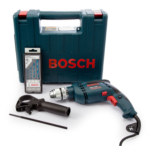 Bosch GSB13RE Impact Drill with Accessories 110V - 6