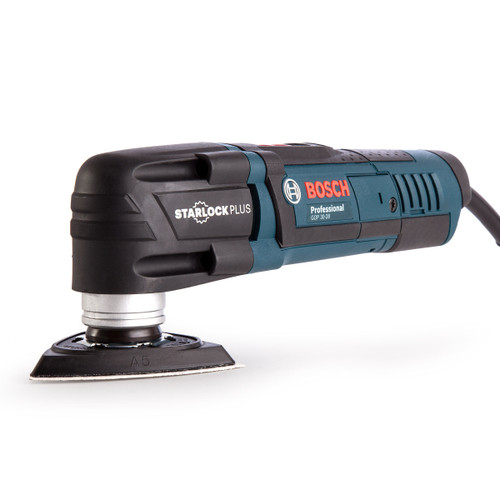 Bosch GOP 30-28 Professional Starlock Multi-Cutter 300W with 16 Accessories in L-Boxx 110V - 9
