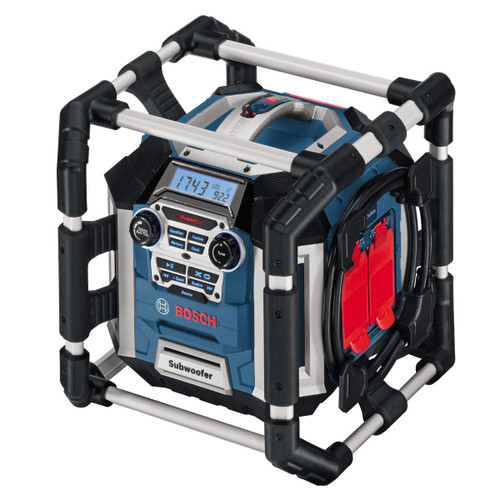 Bosch GML50 Professional Power Box 360 Jobsite Radio/Charger 110V - 5
