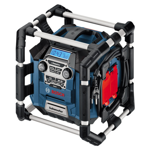 Bosch GML20 Professional Powerbox 360 Jobsite Radio 110V - 5