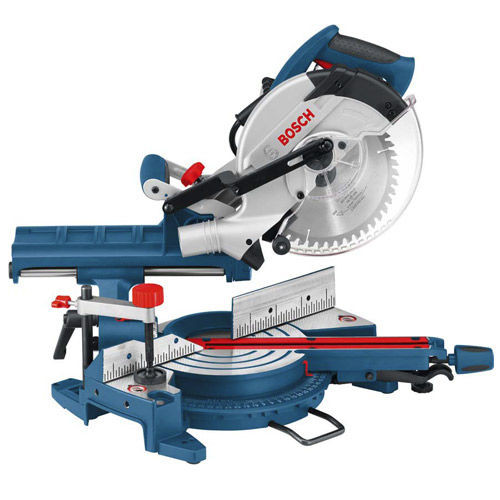 "Bosch GCM8SJ 8"" Single Bevel Sliding Mitre Saw 110V - 4"
