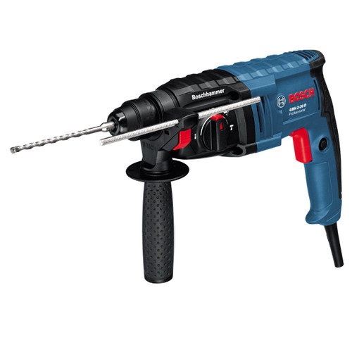 Bosch GBH220D SDS+ Rotary Hammer 2kg in Case with 1 Chisel 110V - 5