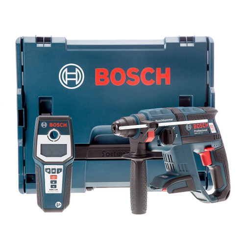 Bosch GBH 18V-EC SDS Plus Rotary Hammer Drill (Body Only) with GMS120 Detector - 3
