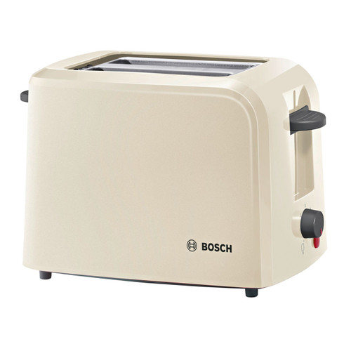 Bosch TAT3A0175G Toaster Compact 2 Slice in Cream 980W - 6