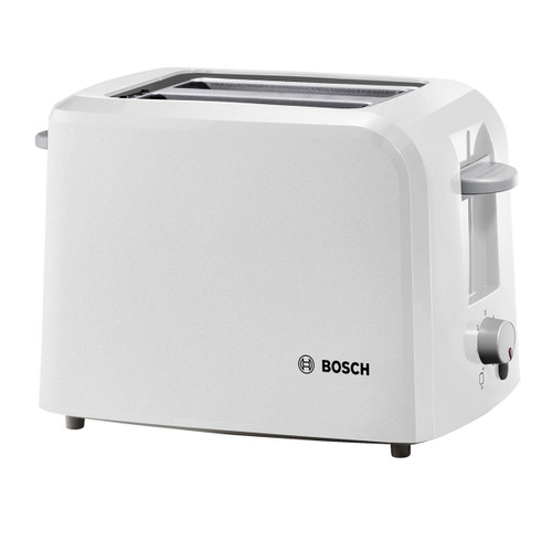 Bosch TAT3A011GB Toaster Compact 2 Slice in White 980W - 7