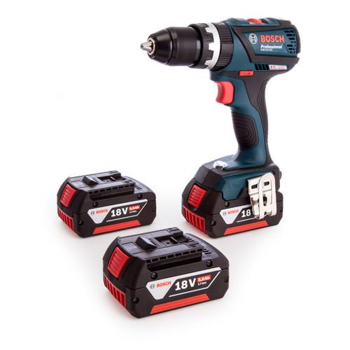 Bosch GSB18VEC3 2-Speed Brushless Combi Drill (3 x 5.0Ah Batteries) - 5