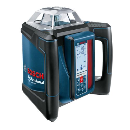 Bosch GRL 500 HV + LR50 Rotation Laser Horizontal & Vertical + Tripod BT170HD + Rod - 6