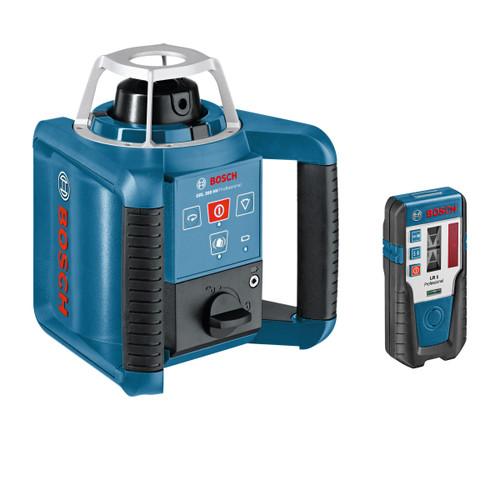 Bosch GRL 300HV + LR1 + WM4 + RC1 - Rotary Laser Set - 11