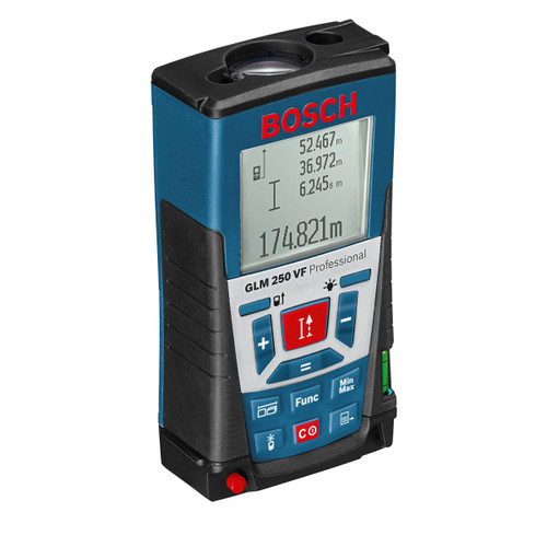 Bosch GLM250VF Laser Rangefinder with Illuminated Multi-Function Display and Built-in Viewfinder - 10