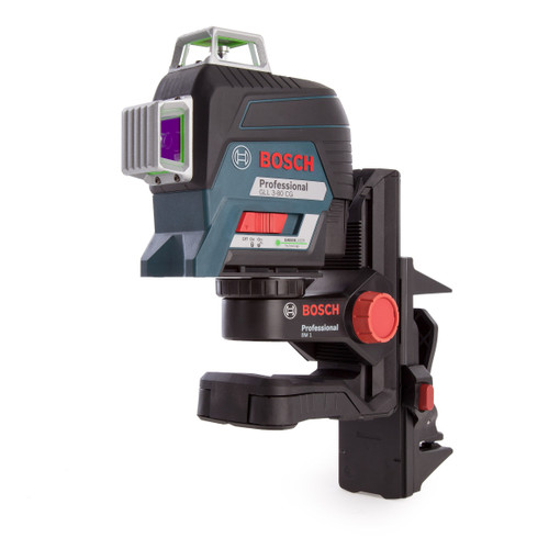 Bosch GLL380-CG Professional Green Beam Plane Laser with Gedore 26 Piece Accessory Set in L-BOXX (1 x 2.0Ah Battery) - 10