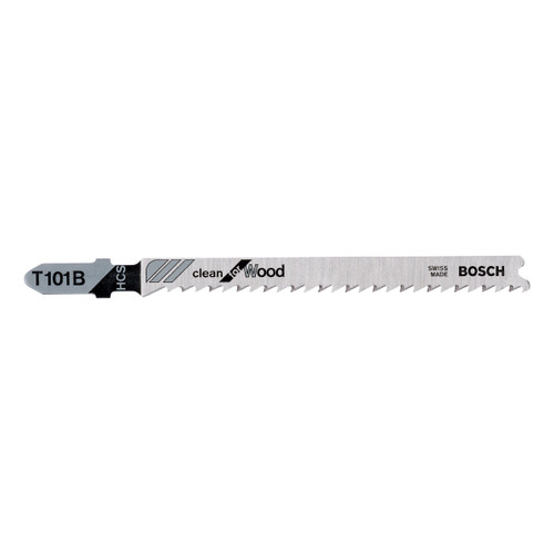 Bosch 2608633622 T101B HCS Jigsaw Blades Clean for Wood 25 Piece - 2