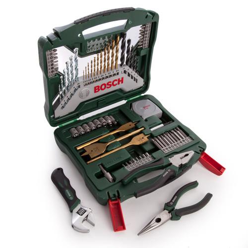 Bosch 2607017197 Universal X-Line Titanium Drill & Bit Set (70 Piece) - 4