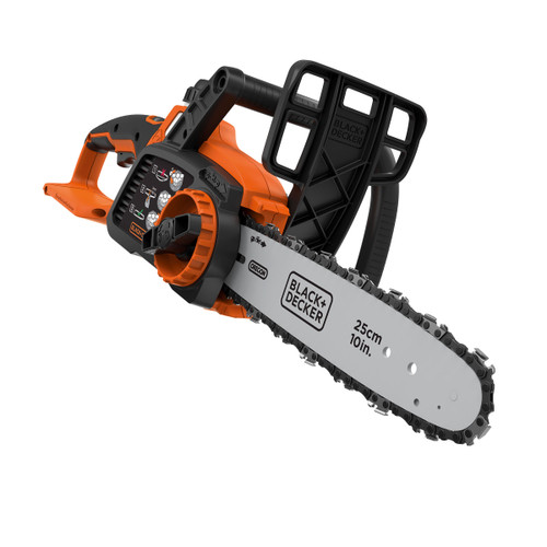 Black + Decker GKC1825LB 18V Lithium-ion Cordless Chainsaw 25cm (Body Only) - 7