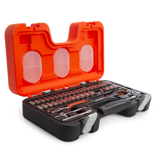 Bahco S460 Bit and Socket Set 1/4in Dynamic Drive (46 Piece) - 3