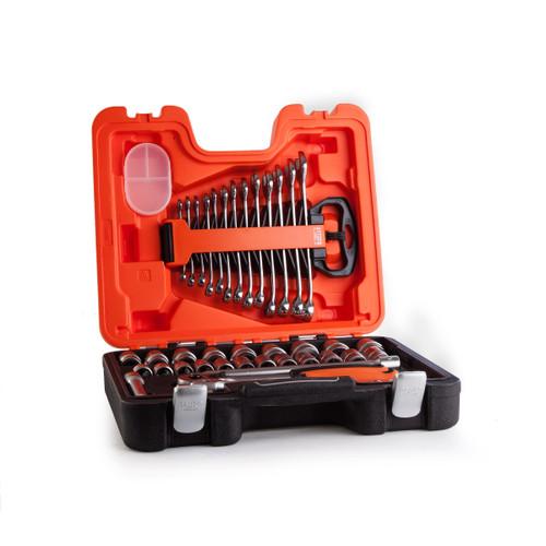 Buy Bahco S400 Socket Set 1/2in Drive (40 Piece) at Toolstop